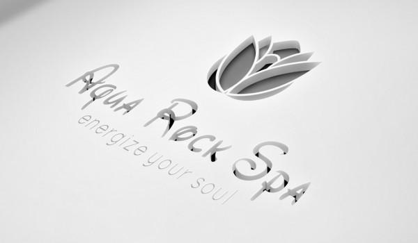 Aqua Rock Spa Branding